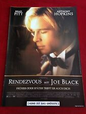 Rendezvous mit Joe Black Kinoplakat Poster A1 Brad Pitt, Anthony Hopkins