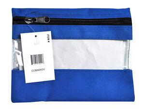Craft Caddy Bag 8 Inch By 6 Inch Royal Blue