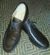English Made Brown Leather Casual Shoes From Barker, Size 11 E
