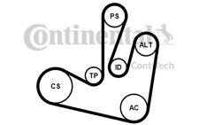 CONTITECH Juego de correas trapeciales poli V para RENAULT LAGUNA MEGANE