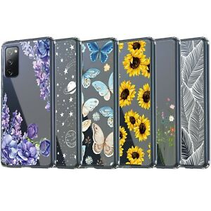 Galaxy S20 / S20+ / S20 Ultra / S20 FE 5G Case, Clear Case with Design