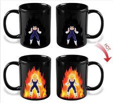 Dragon Ball Z Saiyan Vegeta Ceramic Heat Reactive Color Change Coffee Mug DBZ