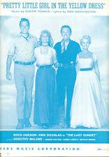 """Last Sunset """"Pretty Little Girl en Amarillo"""" Kirk Douglas Dorothy Malone"""