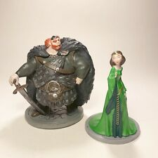 Disney Brave Figure Set | 2 Items | Queen Elinor & King Fergus | PVC
