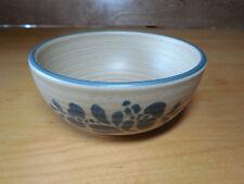 """Pfaltzgraff USA FOLK ART Set of 6 Soup Cereal Bowls 5 3/8"""" Vintage"""