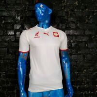 Poland Team Jersey Home football shirt 2007 - 2009 White Puma Trikot Mens Size S