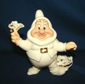 Lenox Disney Showcase Collection Snow White Happy Dwarf Figurine