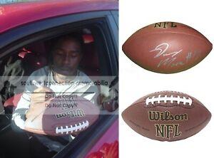 Denarius Moore Raiders Signed NFL Football Bills Tennessee Proof Autograph COA