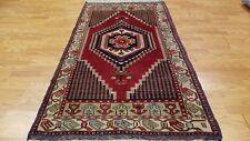 5 x 7 Vintage Tribal Turkish Anatolian Yuruk Hand Knotted Wool Rug
