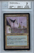 MTG Urza's Saga Tolarian Academy BGS 7.0 (7) NM WOTC Magic 8491