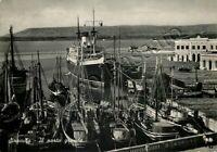 Cartolina di Siracusa, barche in porto - 1963