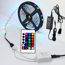 5M 10M 15M 50M RGB LED Multi-color magic color waterproof light Roll strip +psu