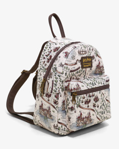 Loungefly Harry Potter School Grounds Mini Backpack - New