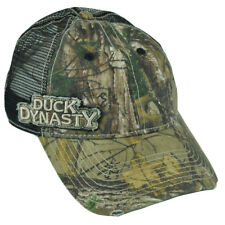 Duck Dynasty A&E Realtree Side Mesh Distressed Camo Garment Wash  Hat Cap