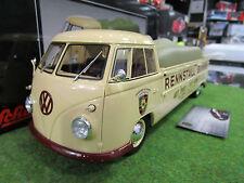 VOLKSWAGEN T1 PICK-UP BUNKER au 1/18 SCHUCO 450007500 camion miniature