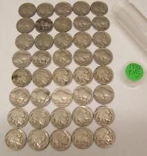 1937 Buffalo nickels  FINE -  1 circulated roll