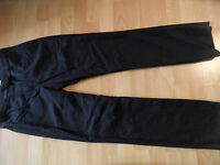 GUNEX by BRUNELLO CUCINELLI chice Business Wollhose schwarz Gr. 36 NEUw. BI616