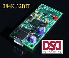 NEWEST XMOS U8 USB 384K 32B I2S SPDIF output,support DSD for es9018 DAC