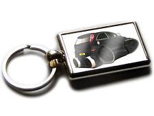 VAUXHALL CORSA SRi Rear View Car Koolart Chrome Keyring Picture Both Sides