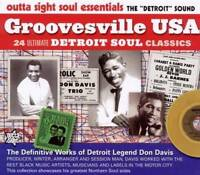 GROOVESVILLE USA Various Artists NEW & SEALED NORTHERN SOUL  CD (OUTTA SIGHT)