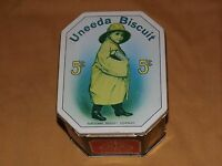 VINTAGE KITCHEN NATIONAL BISCUIT COMPANY UNEEDA BISCUIT 5C TIN