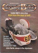 CLASSIC BIKE APRIL/MAY 1981 - KTT VELOCETTE TEST / OK SUPREME MODEL SV/39 TEST
