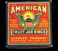 Vintage Box Of American Fruit Jar Rings NIB