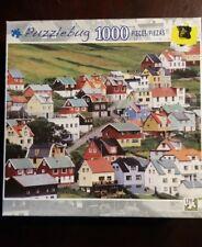 Puzzlebug 1000 Piece Jigsaw Puzzle of Midvagur, Vagar, Faroe Island, Denmark
