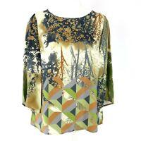 Expresso Damen Tunika Bluse Shirt Modell Miley Viskose Floraler Print Neu