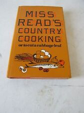 MISS READ'S COUNTRY COOKING OR TO CUT A CABBAGE-LEAF 1969