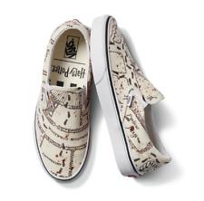 New VANS x Harry Potter Marauders Map Classic Slip-On Shoes