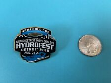 Apba Gold Cup 2018 Seattle Seafair Hydroplane Button Hat Hydro Pin