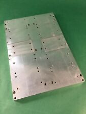 Aluminum Liquid Cooled Heat Sink Cold Plate 11x165