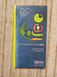 Slimming World Free Branded Foods 2016 Book by Slimming World (Paperback)