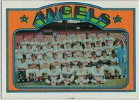 1972 Topps #71 Angels Team EX-EXMT+ Nolan Ryan Vada Pinson FREE SHIPPING