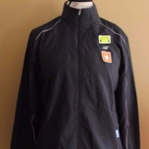 NWT!! New Balance WRJ8305 Women's Sequence 2.0 Jacket  -  Black  - REFLECTIVE