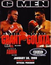 Grant vs Abdin / Golota vs Ferguson Boxing Program 1999
