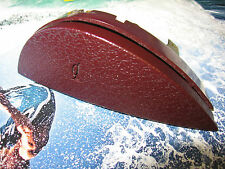 REATTA STEERING WHEEL HORN BUTTON FACTORY DARK BURGUNDY W FISH LINE LEFT SIDE
