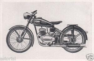 HERCULES 312 * Motorrad * bike * 1952 * orig. Sammelbild *