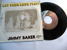 """JIMMY BAKER""""LET YOUR LOVE FLOW-disco 45 giri UIM Italy 1974"""" PERFTTO"""