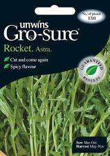 Unwins Pictorial Packet - Herb Rocket Astra - 150 Seeds