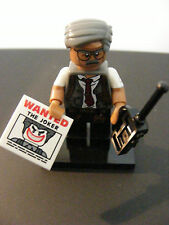 LEGO MINI FIGURE BATMAN MOVIE SERIES COMMISSIONAIRE GORDON