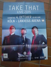 Konzertplakat *Take That* Tour 2015  DIN A1