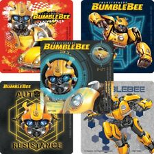 """25 Transformers Bumblebee Movie Stickers, 2.5"""" x 2.5"""" each, Party Favors"""