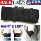 Outdoor Tactical Elastic Belly Band Waist Pistol Gun Holster & 2 Magzine Pouches