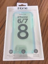 iHome iPhone 6/7/8 Impact Phone Case Clear Ships N 24h