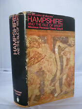Hampshire and the Isle of Wight by Nikolaus Pevsner, David Lloyd HB DJ 1st 1967