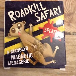Roadkill Safari Magnets A Mangled Magnetic Menagerie Complete VGC
