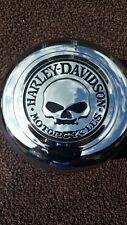 """Custom Harley-Davidson  Willie G. Skull  Horn Cover! """"NEW""""""""""""'"""
