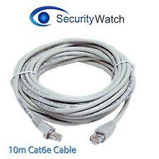 10M Meter 4 Pair UTP RJ45 CAT6E Patch Lead Network LAN Ethernet Cable FREE DEL1
